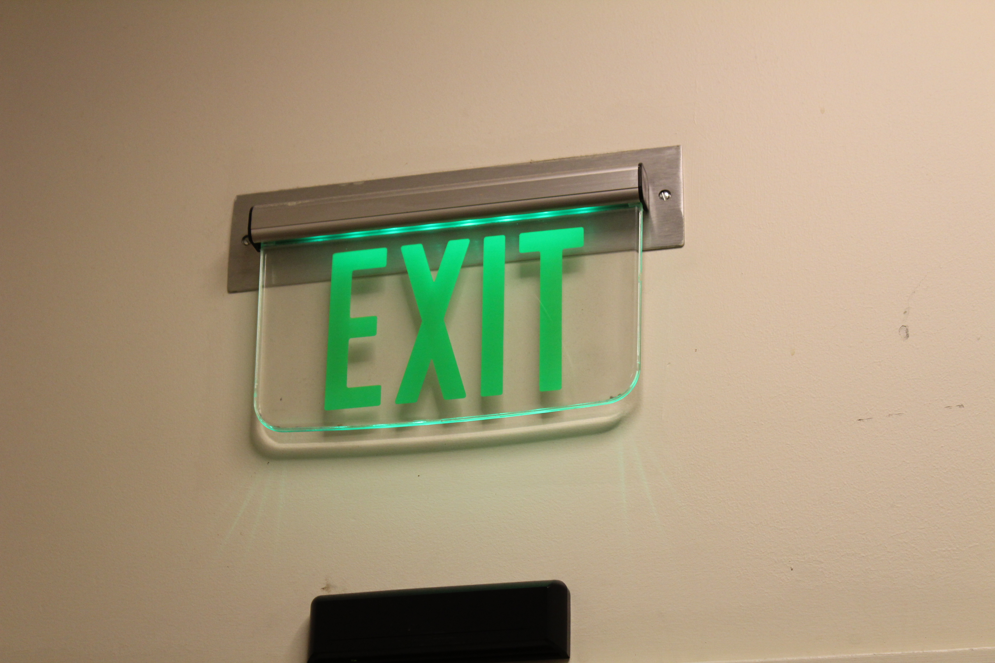 Enter Exit Signs Pure Image Surrey Langley